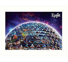 Attractions of Epcot Art Print