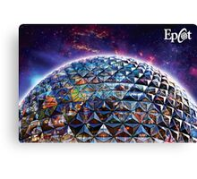 Attractions of Epcot Canvas Print
