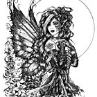 Brenna - the raven fairy by LKBurke29