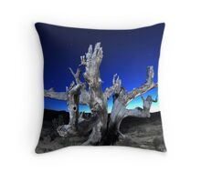 Old, Dead, but well lit Throw Pillow