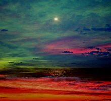 The Sea  On Fire by Evita