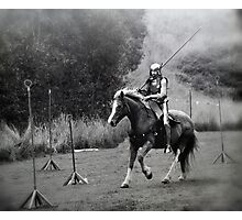 Knight in Shining Armour - Gumeracha, SA Photographic Print