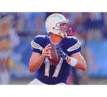 Philip Rivers San Diego Chargers Photographic Print