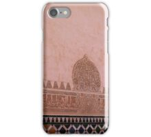 Alhambra tiles and stucco iPhone Case/Skin