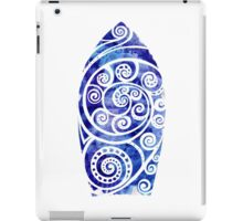 Watercolor Surfboard iPad Case/Skin