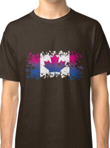 Canadian Flag- Bisexual Pride Classic T-Shirt