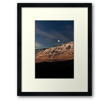 Road to the Moon.  Framed Print