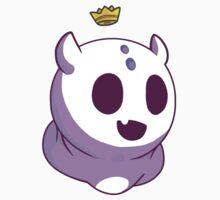 Purple Ghost Gummy Sticker Kids Tee