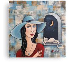 Lady Catrina Canvas Print
