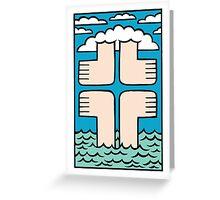 Ups 'n' Downs Greeting Card