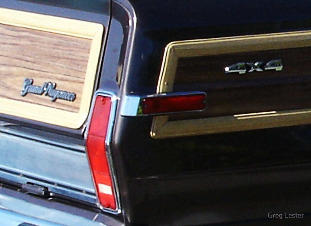 Grand Wagoneer Style by Greg Lester