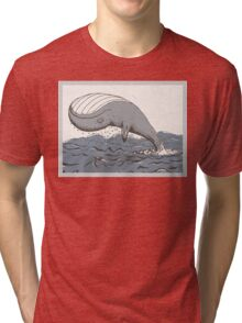 Whale of a Day Tri-blend T-Shirt