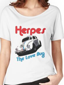Herpes - The Love Bug Women's Relaxed Fit T-Shirt
