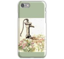 The garden, where Peace and Calm flourish iPhone Case/Skin