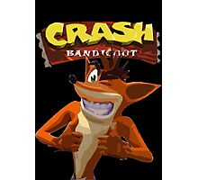 Crash Bandicoot Photographic Print