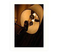 room lamp Art Print