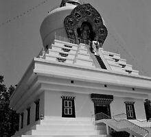 mindrolling stupa. uttarakhand, india by tim buckley   bodhiimages
