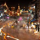 Haridwar: The busy streets by Dinni H