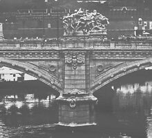 Ponte Vittorio Emanuele by Cathy  Walker