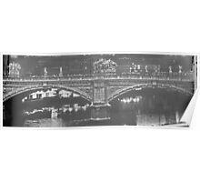 Ponte Vittorio Emanuele Poster