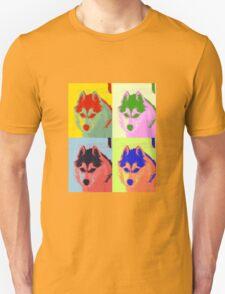 Retro Husky  Unisex T-Shirt