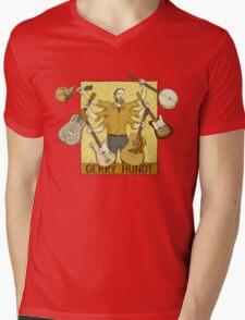 Gerry Hundt, classic 6-arm design by Colby Aitchison Mens V-Neck T-Shirt