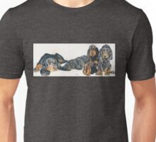 Black & Tan Coonhound Puppies Unisex T-Shirt