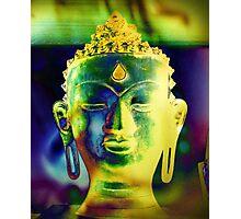5048 Buddha head Photographic Print