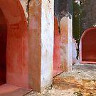 Convent Courtyard by Zane Paxton