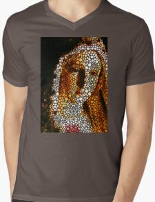 Mary - Holy Mother By Sharon Cummings Mens V-Neck T-Shirt