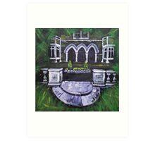 'Portrait of a Welsh Country House: Dolserau Hall' Art Print