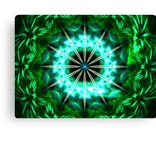 Green Compass Canvas Print