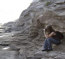 Photographer at Work by Trenton Cayetano