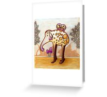 elephant beetle Greeting Card