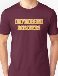 Unfished Business (Wine & Gold) T-Shirt