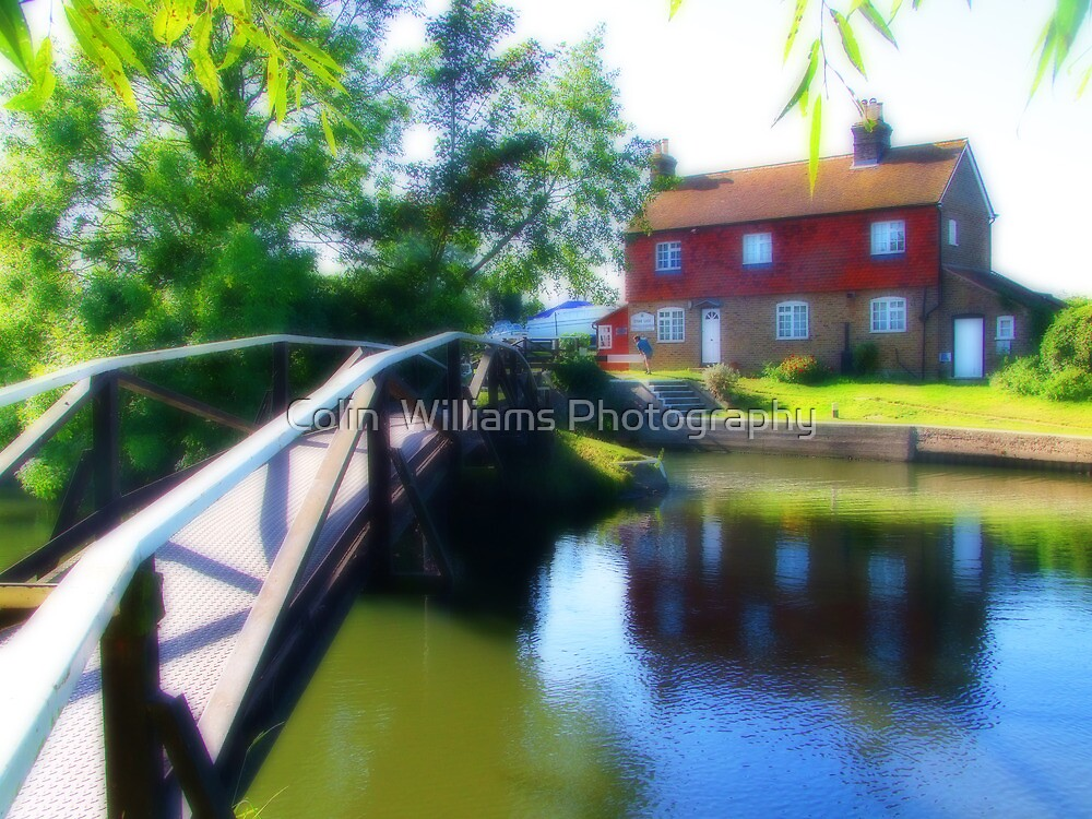 Stoke Lock Bridge - Orton by Colin  Williams Photography