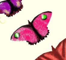 Butterfly stencils  Sticker