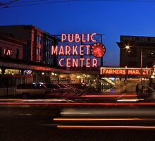 Pike Place Market by Steve Giddings