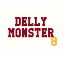 Delly Monster Art Print
