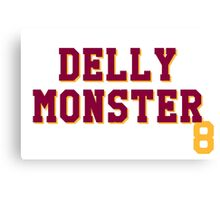 Delly Monster Canvas Print