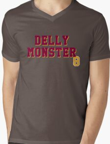 Delly Monster Mens V-Neck T-Shirt