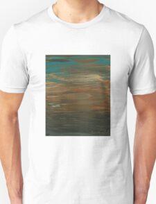 Layered Teal Sunset T-Shirt