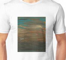 Layered Teal Sunset Unisex T-Shirt