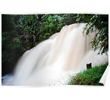 Lake Eildon Falls Poster