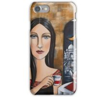 Tea at the Taj iPhone Case/Skin