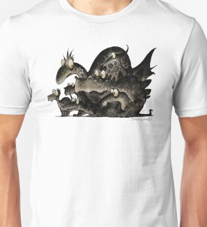 Funny Monsters! Unisex T-Shirt