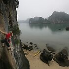 Climbing in Vietnam by Tim and Loz .