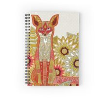 garden fox Spiral Notebook