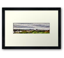 The view from the Queen's Drive Framed Print