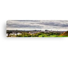 The view from the Queen's Drive Canvas Print